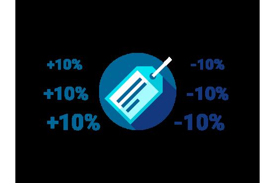 Пакетная смена цены товара в программе Microinvest